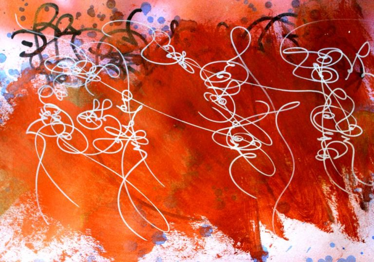 abstract calligraphy from nuno Matox